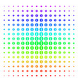 info shape halftone spectral grid vector image vector image