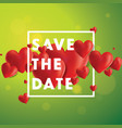 save the date background vector image