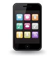 Smart Phone Apps vector image vector image