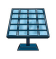 solar panel energy vector image vector image