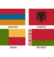 flag symbol vector image