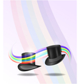 Magic hats vector image vector image