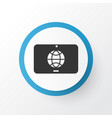 touchscreen icon symbol premium quality isolated vector image vector image