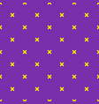 mardi gras carnival party seamless pattern vector image
