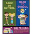 School Banner Set Part 2 vector image