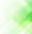 abstract square shapes green background vector image