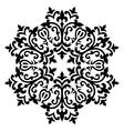 Antique ottoman turkish pattern design sixty vector image vector image