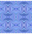blue seamless abstract psychedelic swirl stripe vector image vector image