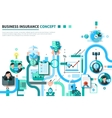Business Insurance Concept vector image vector image