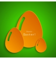 modern easter egg background Eps 10 vector image vector image