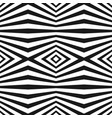 seamless pattern with black and white stripes vector image vector image