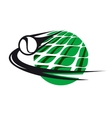Tennis sport icon vector image