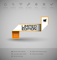 Banner with commerce business content vector image