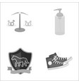 business leisure tourism and other monochrome vector image vector image