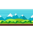game background flat style vector image vector image