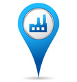 industry location icon vector image vector image