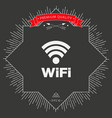 internet connection symbol icon vector image