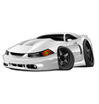 Modern American Muscle Car vector image vector image