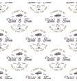 monochrome seamless pattern with old style vector image vector image