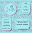 retro style inforgraphic board for herbal medicine vector image vector image