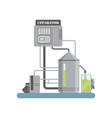 separator equipment for olive oil production vector image