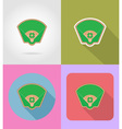 sport flat icons 52 vector image vector image