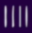 white grunge halftone brush stroke set vector image