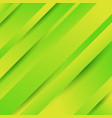 abstract geometric diagonal green background with vector image vector image