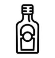 cider vinegar icon outline style vector image