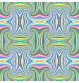 colorful seamless hypnotic abstract spiral stripe vector image vector image