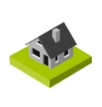 Isometric 3D icon Pictograms House vector image vector image