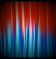 red and blue shiny realistic satin textile texture vector image
