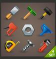 tools icon set-4 vector image