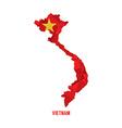 Map of Vietnam vector image