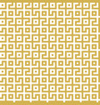 abstract seamless maze pattern geometric golden vector image