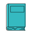 academic book icon vector image vector image