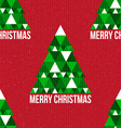 Christmas seamless retro pattern vector image vector image