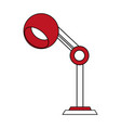lamp office flat vector image