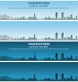 lyon skyline event banner vector image vector image