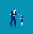business people with direction and vision concept vector image
