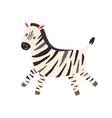 cute and funny zebra in scandinavian