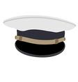 Navy cap vector image vector image