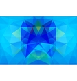 Polygonal background vector image vector image