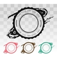 Retro vintage badge stamp isolated icon vector image vector image