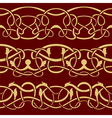 Seamless border vector image vector image