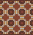 seamless pattern with interacting circles vector image vector image
