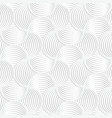 White paper 3D slim stripes small circle pin will vector image vector image