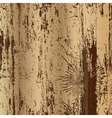 wood texture with trace of bark beetles vector image