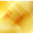 abstract gold gradient geometric squares vector image vector image