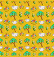 easter seamless pattern with traditional eggs vector image vector image